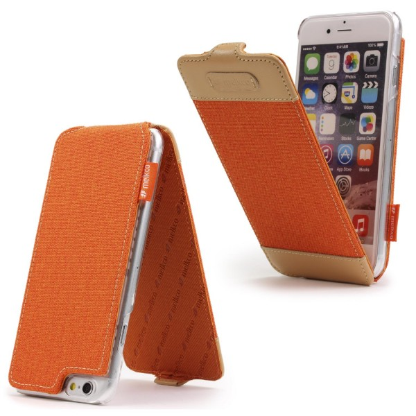 Urcover® Apple iPhone 6 Plus / 6s Plus Flip Schutzhülle Cover Wallet Kunstleder