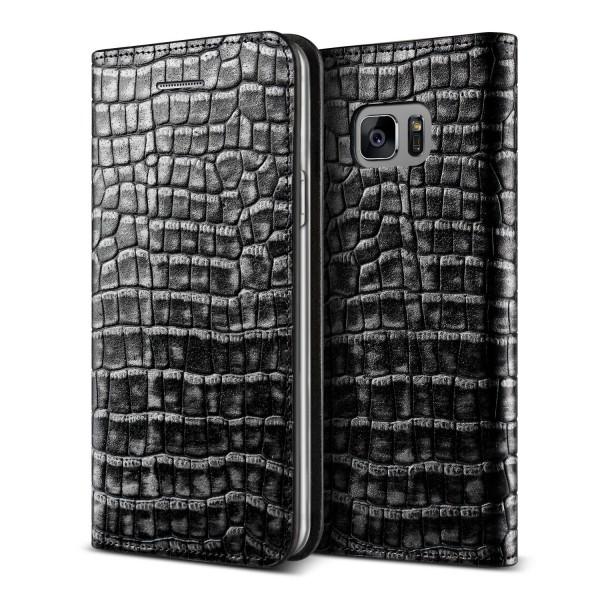 VRS Design® Samsung Galaxy Note 7 Echt Leder Handy Schutzhülle Case Cover Etui
