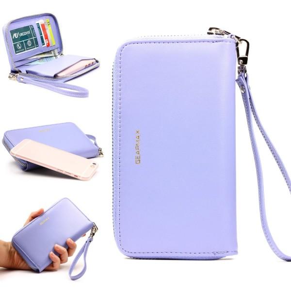 Urcover® Apple iPhone 6 Plus / 6s Plus Schutz Hülle mit Geldbeutel Wallet Case