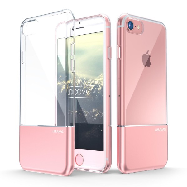 Urcover® Apple iPhone 7 Hard Back Case Dual Layered Cover Schale Schutz Hülle