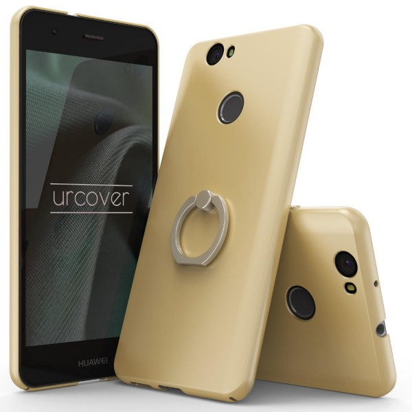 Huawei Nova Fashion Metal Ring Holder PC Protection Back Cover Case