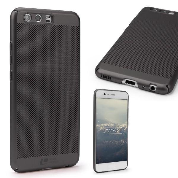 Huawei P10 Schutzhülle TOP HAPTIK Cover Back Case Bumper Hülle Schale modern