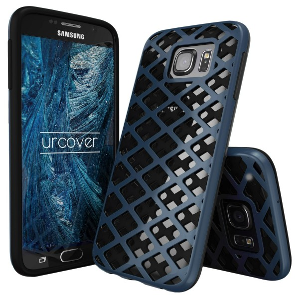 Urcover® Samsung Galaxy S6 Handy-Hülle 2-teilig [PC/TPU] Dual Layer Cover