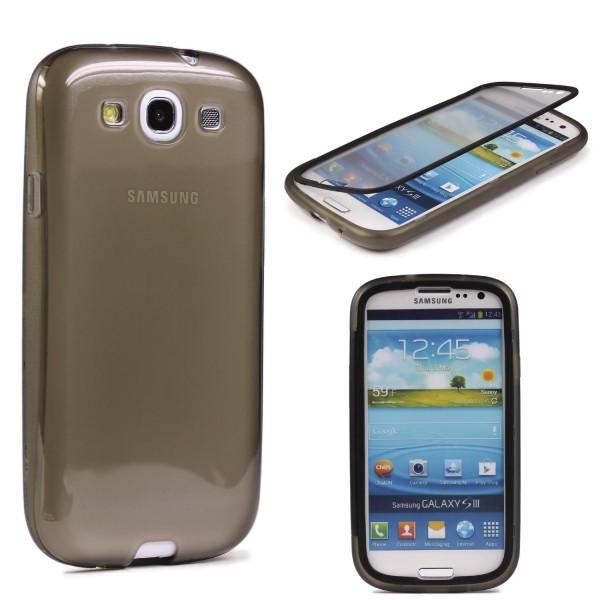 Samsung Galaxy S3 TOUCH CASE Display Schutz Hülle Schale Rundum Cover Tasche