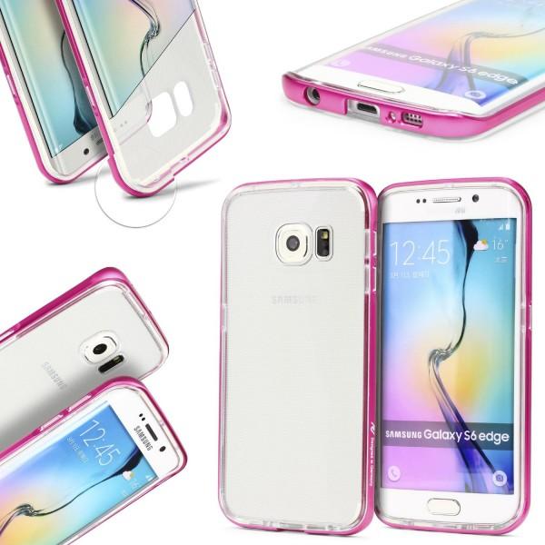 Urcover® Samsung Galaxy S6 Edge Aluminium Bumper Kameraschutz Case Cover Hülle