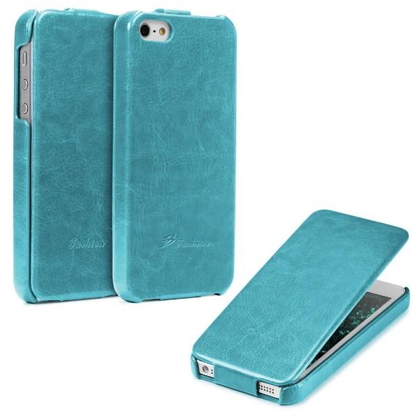 Apple iPhone 5 / 5s / SE Klapp Tasche Case Cover Schutz Hülle Wallet Kunst-Leder
