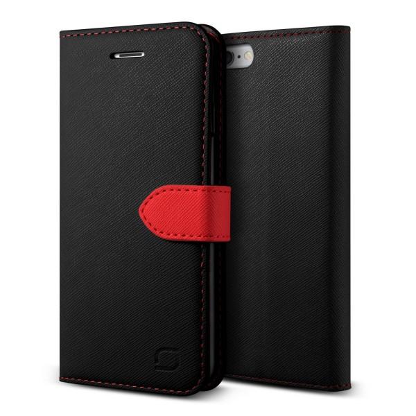 Urcover Apple iPhone 6 / 6s Klapp Schutz Hülle Flip Wallet Case Stand Cover Etui