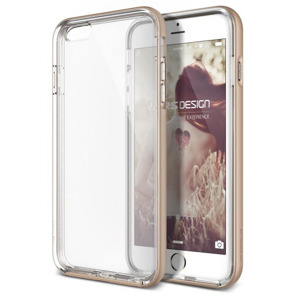 Apple iPhone 6 / 6s Handy Schutz Hülle Case Crystal Bumper Slim Schale Cover