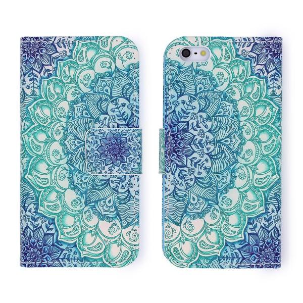 Samsung Galaxy S5 Mini Handy Schutz Hülle Cover Case Wallet Klapphülle Schale