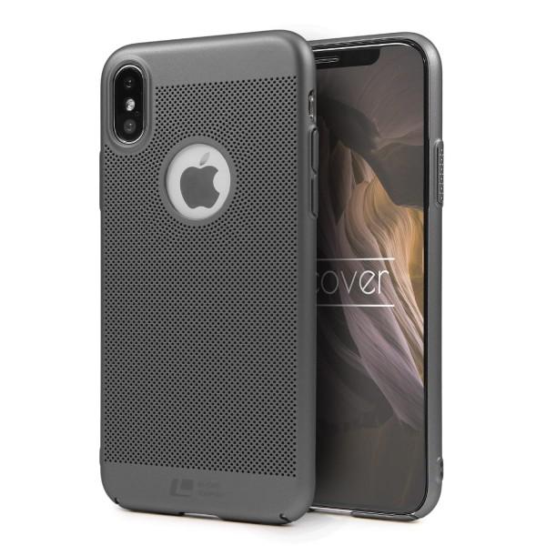 Apple iPhone X Schutzhülle TOP HAPTIK Cover Back Case Bumper HandyHülle Etui