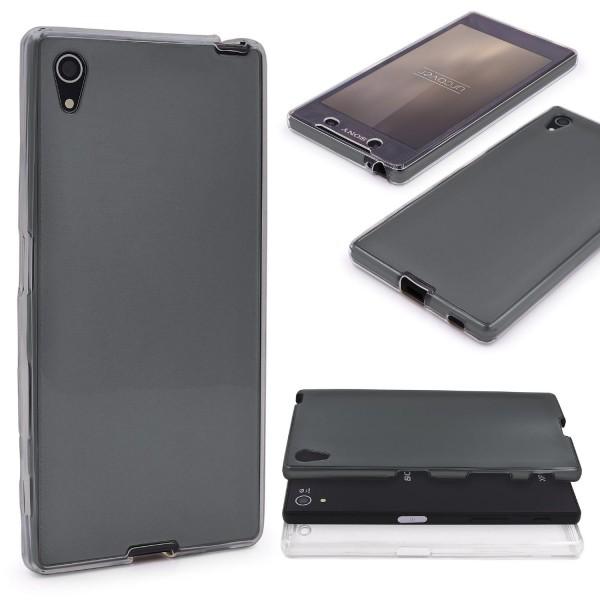 Sony Xperia Z5 360 GRAD RUNDUM SCHUTZ Metalloptik TPU Handy Hülle Cover Case
