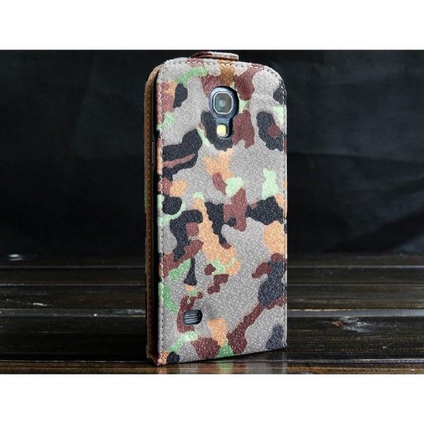 Urcover® Samsung Galaxy S4 Mini Tarn Optik Schutz Hülle Case Cover Etui Wallet