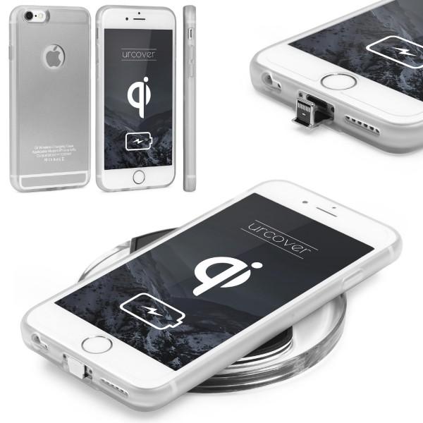 Apple iPhone 6 / 6s Kabellos laden Schutzhülle funk Ladestation Back Case Cover