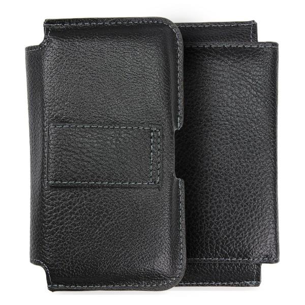 Urcover® 4,3 Zoll Kunstleder Hosengürtel Tasche Gürtel-Handyhülle Case