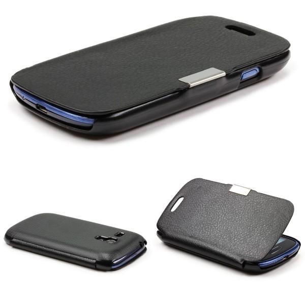 Urcover® Samsung Galaxy S3 Mini Schutz Hülle Klapp Wallet Flip Case Cover Tasche