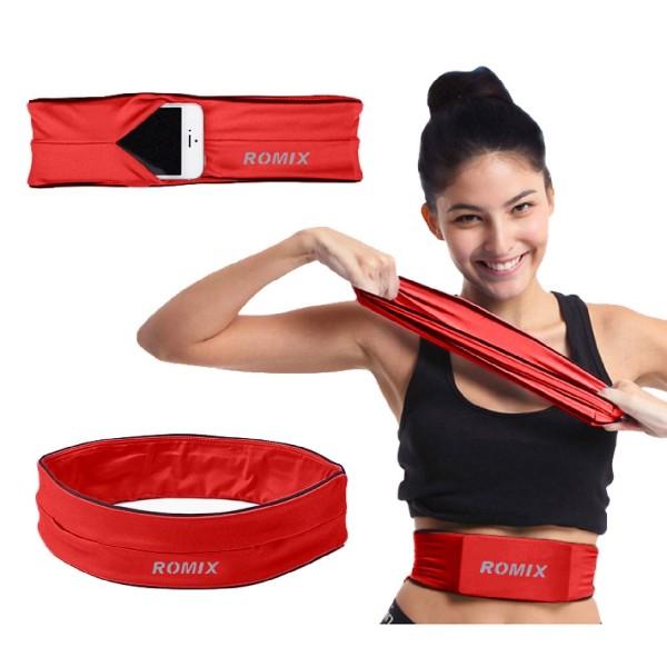 Urcover® Größe XL Spandex elastischer Sport Lauf Gürtel mit Tasche Fitness Yoga