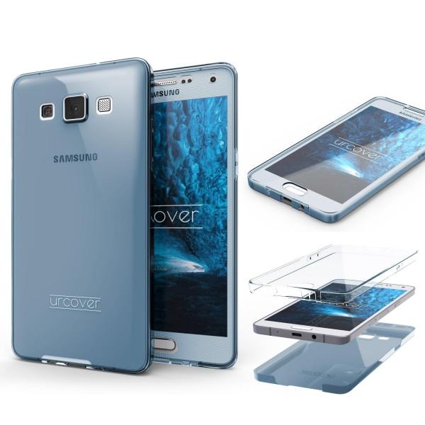 Samsung Galaxy A7 (2015) TPU Case 360 Grad Schutz Hülle Etui Cover Touch Case