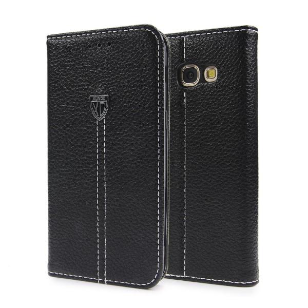 Samsung Galaxy A5 (2017) Schutz Hülle Wallet Case Flip Cover Kartenfach Schale