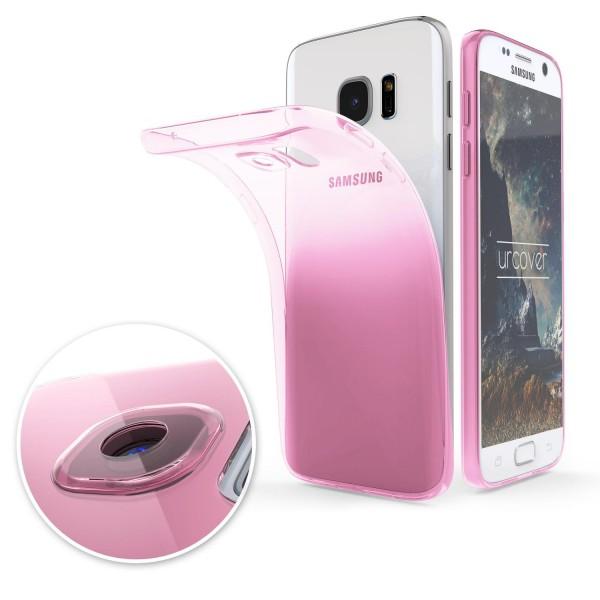 Samsung Galaxy S7 Slim Backcase Kamera Schutz Hülle Silikon Cover Case Etui