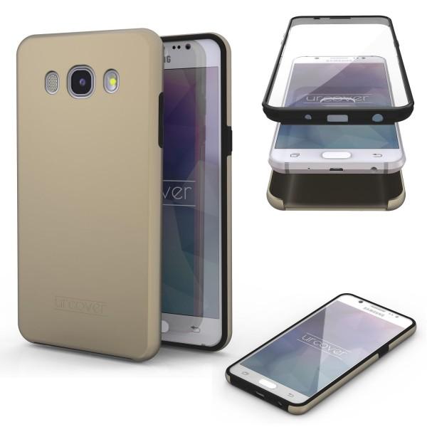 Samsung Galaxy J7 (2016) Touch Case 2018 Handy Schutz Hülle 360° Rundumschutz