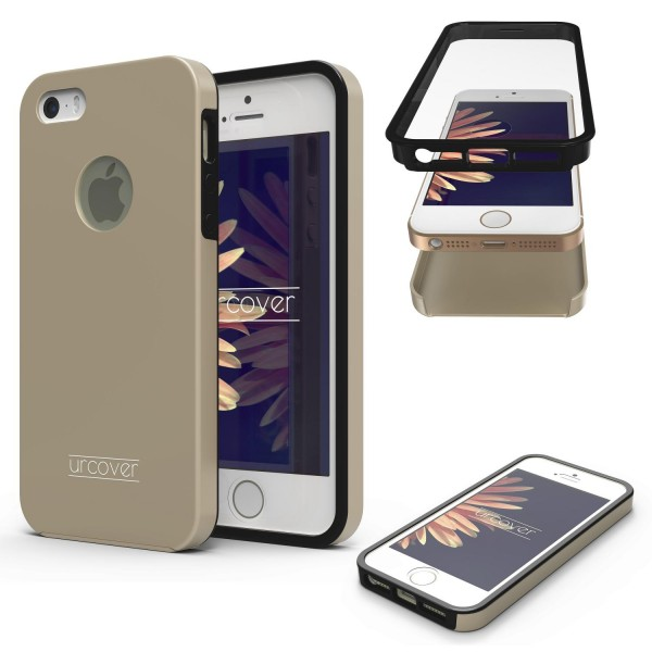 Apple iPhone 5 / 5s / SE Touch Case 2018 Handy Schutz Hülle 360° Rundumschutz