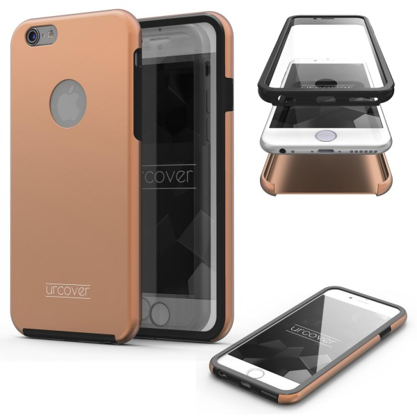 Apple iPhone 6 Plus 6s Plus Touch Case 2018 Handy Schutz Hülle 360° Rundumschutz