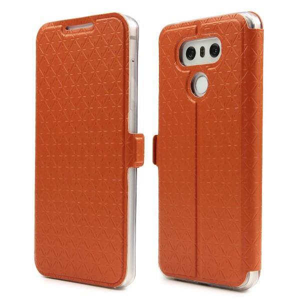 Urcover® LG G6 Sunflower Klapp Handy Schutz Hülle Sichtfenster Kartenfach Standfunktion