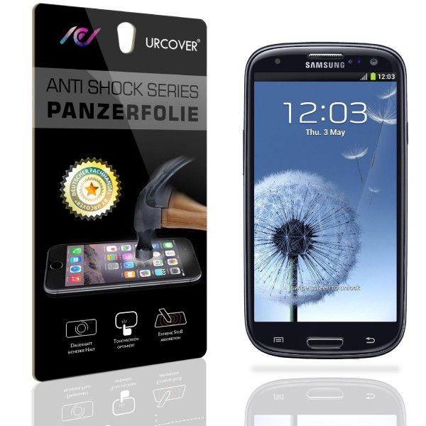 Samsung Galaxy S3 Display Schutz Folie Ultra Klar PET Handy Schutzfolie Clear