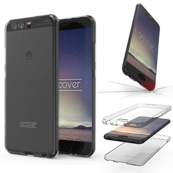 Huawei P10 Plus TPU Case 360 Grad beidseitig Schutz Hülle Etui Cover Touch Case