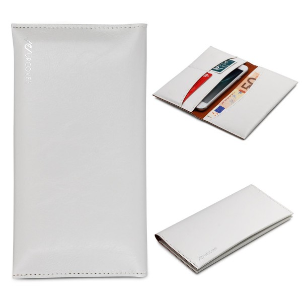 Urcover® Wallet Handyhülle 5,5 Zoll, Geld & Kartenfach Tasche Case Cover