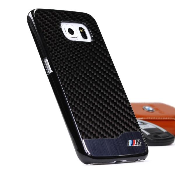 BMW Real Carbon Case Schutzhülle Cover Etui Hülle Samsung Galaxy S6