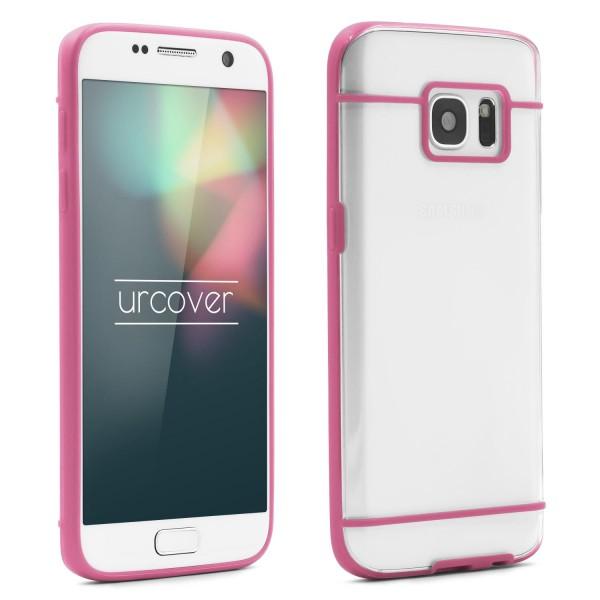 Urcover® Samsung Galaxy S7 Schutz Hülle Slim Hard Back Case Cover Tasche Etui