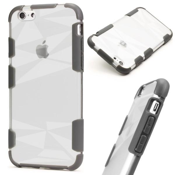 Urcover® Apple iPhone 6/6s Schutz Hülle Slim Kameraschutz Hard Case Cover Tasche