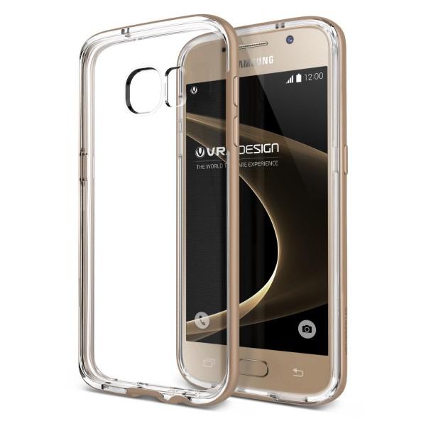 Samsung Galaxy S7 Handy Schutz Hülle Case Crystal Bumper Slim Schale Cover