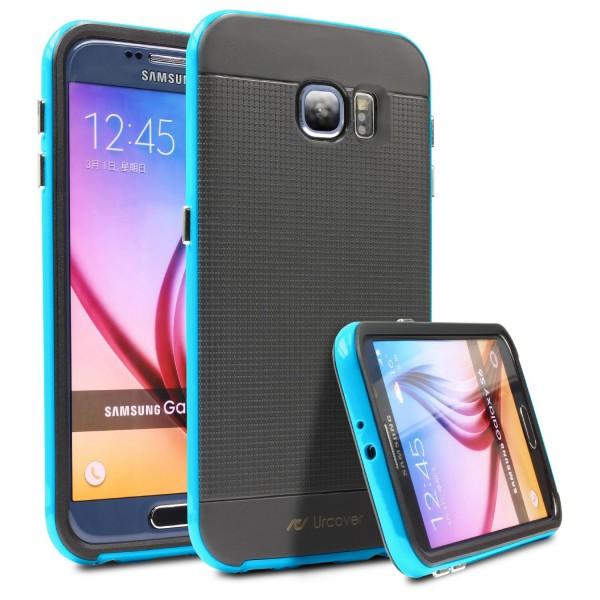 Samsung Galaxy S6 Case Slim Dual Layer Handy Schutz Hülle Case Tasche Schale