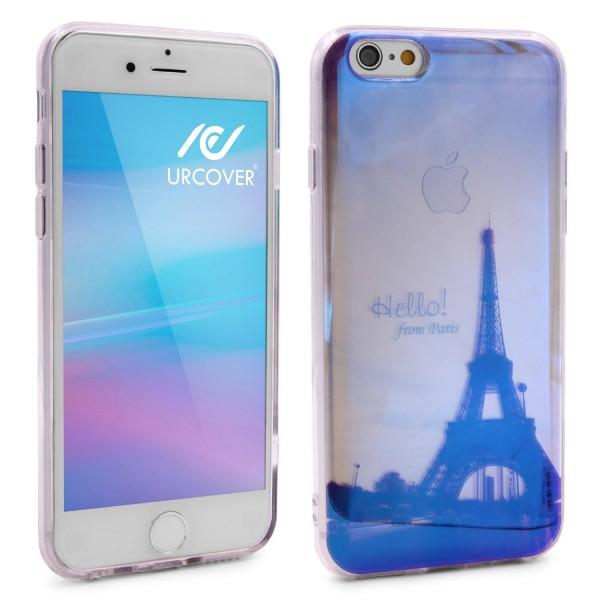 Urcover® Apple iPhone 6 / 6s Backcase Schutz Hülle TPU Silikon Cover Etui Schale