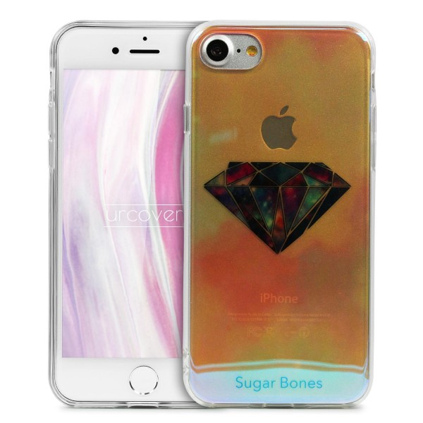 Urcover® Apple iPhone 7 Backcase Schutz Hülle TPU Silikon Cover Etui Schale