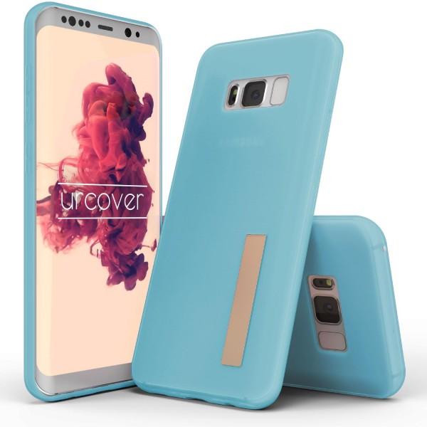 Urcover® Samsung Galaxy S8 TPU Case Standfunktion Schutz Hülle Cover Case Etui Schale