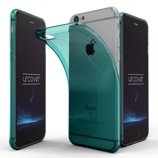 Urcover® Apple iPhone 6 / 6s Back Case Schutz Hülle Cover Etui Schale klar TPU
