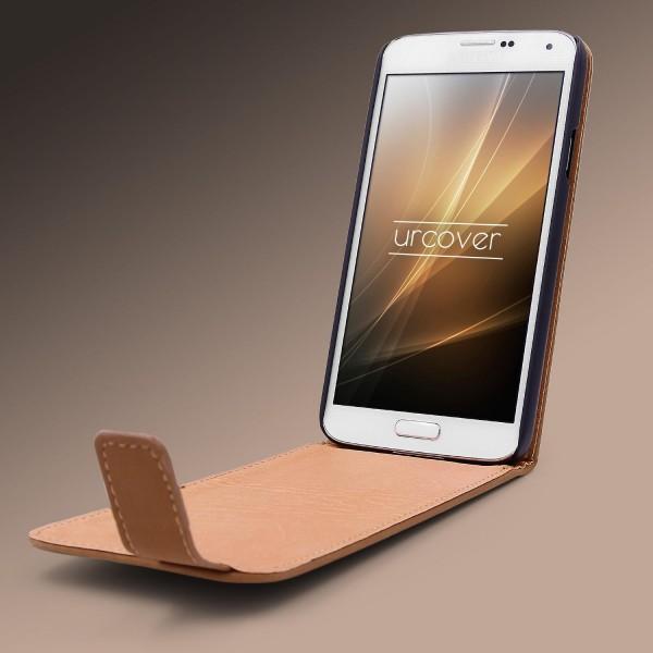 Urcover® Samsung Galaxy S5 Schutz Klapp Hülle Magnet Flip Case Cover Wallet Etui