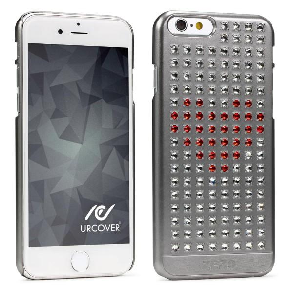 Urcover® Apple iPhone 6 / 6s Herz Back Case Schutz Hülle Cover Etui Schale