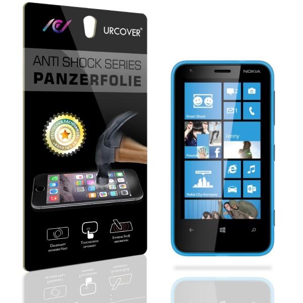 Nokia Lumia 620 Display Schutz Folie Ultra Klar PET Handy Schutzfolie Clear