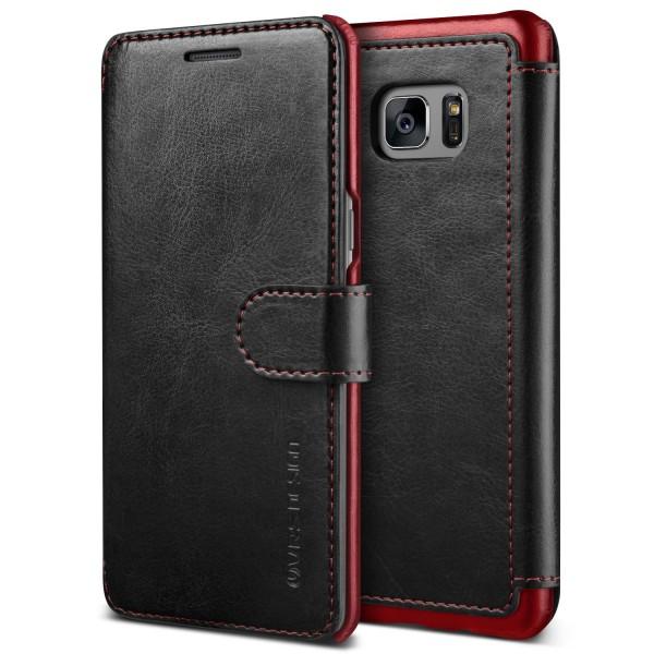 Samsung Galaxy Note 7 Premium Schutzhülle Magnet Verschluss Kartenfach Case Etui