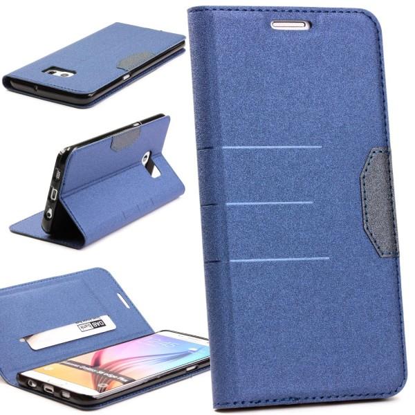 Samsung Galaxy S6 Edge Plus Handy Schutz Tasche Hülle Kartenfach Case Cover Etui