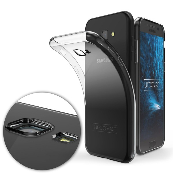 Samsung Galaxy A3 (2017) TPU Case KAMERASCHUTZ Schutz Hülle Cover Schale Etui