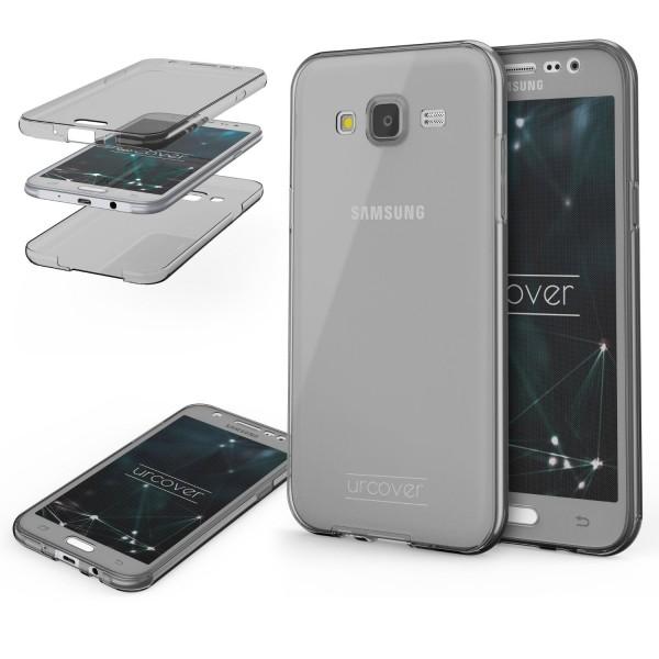 Samsung Galaxy J3 (2015) TPU Case 360 Grad Schutz Hülle Etui Cover Touch Case