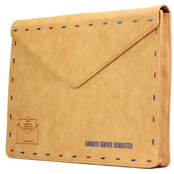 13,3 Zoll Kunst-Leder Schutz Hülle Postkarten Design Style Case Cover Tasche