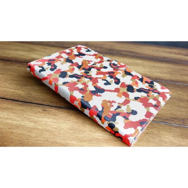 Urcover® LG G-Pad Kunststoff Flip Schutzhülle Tarn Optik Case Cover