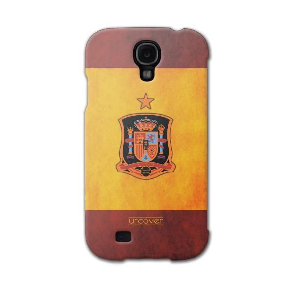 Urcover® Samsung Galaxy S4 Mini Fanartikel Schutz Hülle Fußball Case Land Flagge