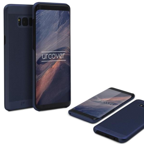 Samsung Galaxy S8 Schutzhülle TOP HAPTIK Cover Back Case Bumper Hülle Schale